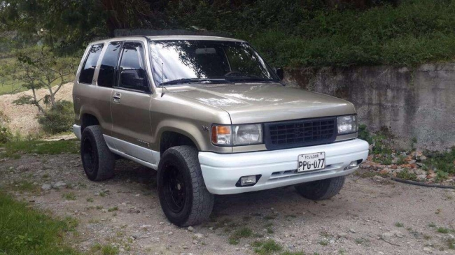 Chevrolet Trooper 4x4 3p, Aprovecha ya!