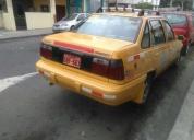 Vendo taxi daewoo racer. contactarse.