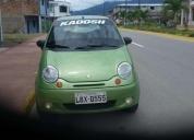 Bonito auto daewoo matiz 2002.