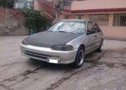 Vendo excelente honda civic 1983