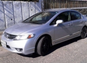 Honda civic 2009 con extras totalmente flamante