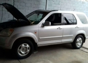Vendo flamante honda crv 2002.