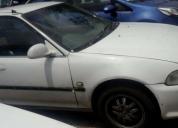 Venta de honda civic modelo 93 blanco