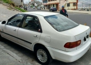 Vendo flamante honda civic si año 1993
