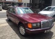 Mercedes benz 300 se año 1990 flamante. contactarse.