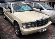 Mercedes benz 190e 2.0 aÑo 1991. contactarse.