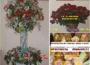 Floreria arreglos con flores para todo compromiso, boches de rosas por mayor