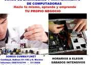 cursos de computación y mantenimientos de equipos informáticos