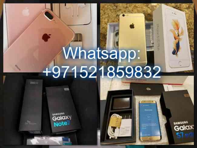 Whatsapp: +971521859832 iPhone 7 Plus y iPhone 6S Plus y Samsung S7 Edge