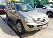 Excelente mercedes benz ml350 2006