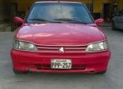 vendo lindo automovil peugeot la fierra 306 aÑo 1994