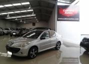 Peugeot 207 automatico flamante 5 puertas. buen estado.