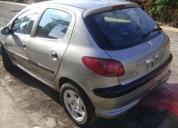Peugeot 206 año 2004 cilindraje 1400, contactarse.
