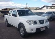 Navara 4x4 gls diesel 2.5 blanca 2011. contactarse.