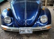 Hermoso escarabajo volkswagen 73, aprovecha ya!