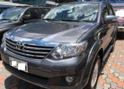 Toyota fortuner aÑo 2015 aut 4x4 3 filas. contactarse.
