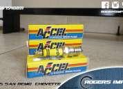 Super bujias de alto rendimiento racing marca accel  chevrolet chevette - san remo - condor