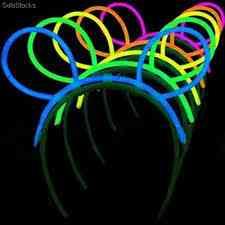 Orejas/ Deadema Glow Para Fiestas, Eventos 100% Divertido
