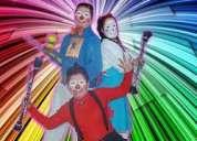 Payasos payasitas animacion fiestas infantiles magos fiestas baby showers $25 divertidos