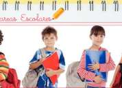 Realice las tareas escolares con independencia y responsabilidad
