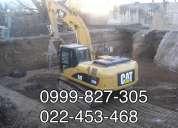 Desbanques demoliciones de casas y edificios excavaciones, desalojos de escombros