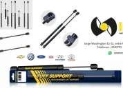 Amortiguadores para compuertas - vidrio y capot - amplio stock