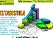 Asesor en estadÍstica y matemÁticas