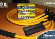 Super oferta en combo de cables de bujias + bujias para el chevrolet chevette - san remo