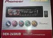 Vendo radio de auto  pioner  deh 2450ub