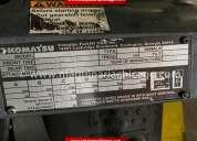 montacargas kamatsu 3900 lbs usado