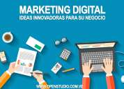Marketing digital, community manager, manejo de redes sociales