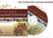 Copias de cd y dvd impresión full color