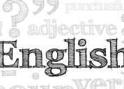 Clases y cursos de inglés, personalizados. 0993-480563