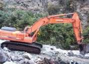 Vendo excavadora doosan dx340lc