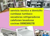 Tanda 🏢 secadoras lavadoras reparacion (0992570627) 🌎 calefones refrigeradoras cumbaya conocot
