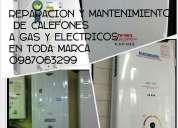 0989-0702-48 reparacion de calefones lavadoras secadora refrigeradoras tumbaco- cumbaya sangolqui★