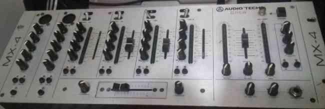 Mescladora audio tech