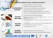 servicios contables, tributarios, laborales y financieros