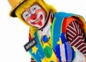 Fiestas infantiles payasos mimos caritas pintadas mago horas locas baby howers $50 inflables