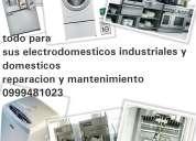 1año garantia reparacion calefones 0999240143 lavadoras  refrigeradoras secadoras/cumbaya sangolqui