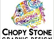 Diseño gráfico chopy stone graphic design