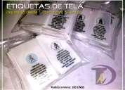 Etiquetas para ropa ecuador