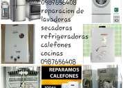 Tumbaco 098-706-3299 reparacion tumbaco calefones lavadoras secadoras refrigeradoras cumbaya tumbaco