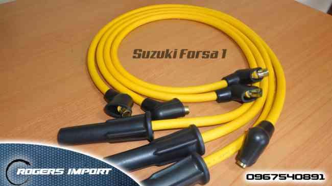 Oferta Cables de Bujias Suzuki Forsa 1 Mayor Flujo de Corriente Marca MAG PLUS Americanos