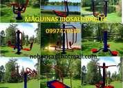 Maquinas de ejercicios para parques