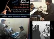 Educación musical al sur de quito. academia musicland