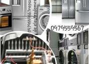 Calefones reparacion lavadoras secadoras noyon))