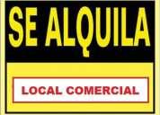 Alquilamos local comercial sector coruÑa