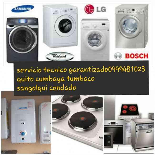 099-25-70627 reparacion calefones lavadoras secadoras refrigeradoras ) cumbaya sangolqui. cocinas