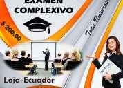CapacitaciÓn para examen complexivo-toda universidad